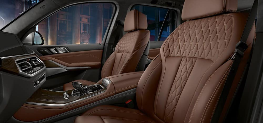The luxurious and comfortable BMW X5 interior