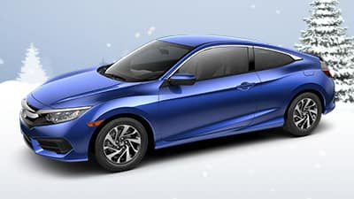 2017 Honda Civic LX Coupe CVT