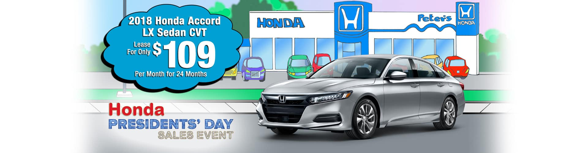 Accord $109 Lease Offer