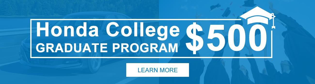 College Graduate Offer
