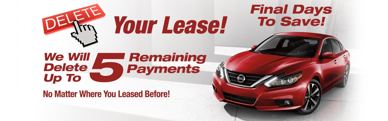 Delete Your Lease | Peters Nissan of Nashua