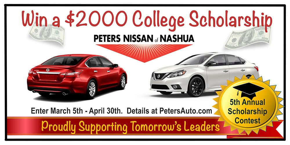 Captivating Peters Of Nashua Announces Their 5th Annual U201dPeters Of Nashua Scholarship  Contestu201d, Open To All Graduating High School Seniors Living In New Hampshire  And ...
