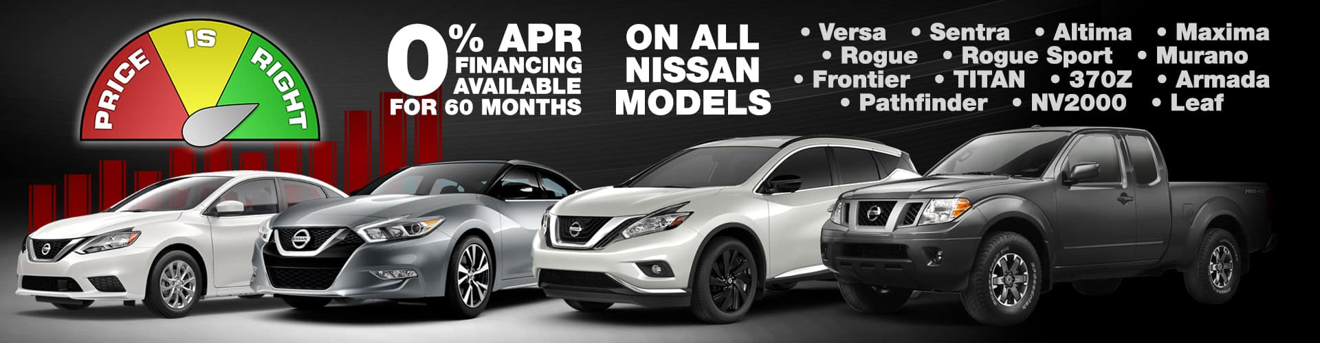 Price Is Right Sales Event   Lease Specials