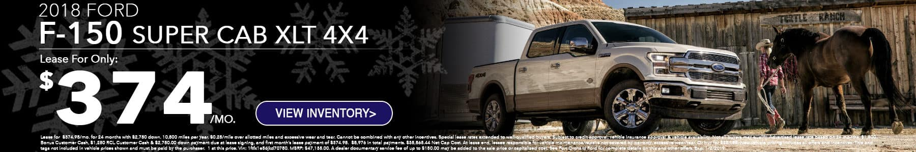 Ford F150 December Special