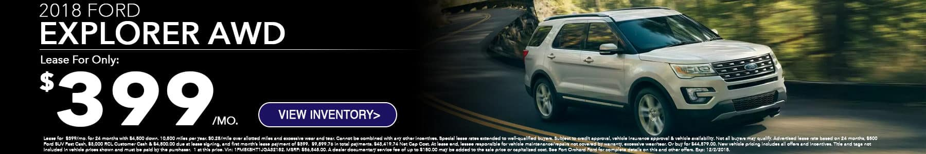 Ford Explorer Special at Port Orchard Ford