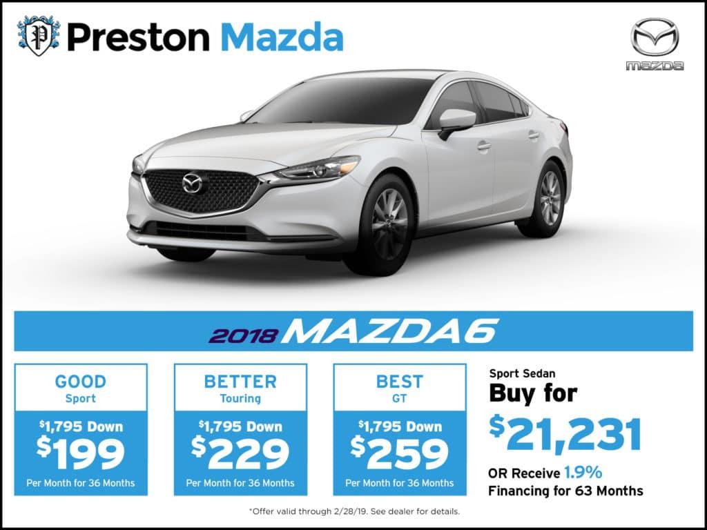 2018 Mazda6 Sport Sedan