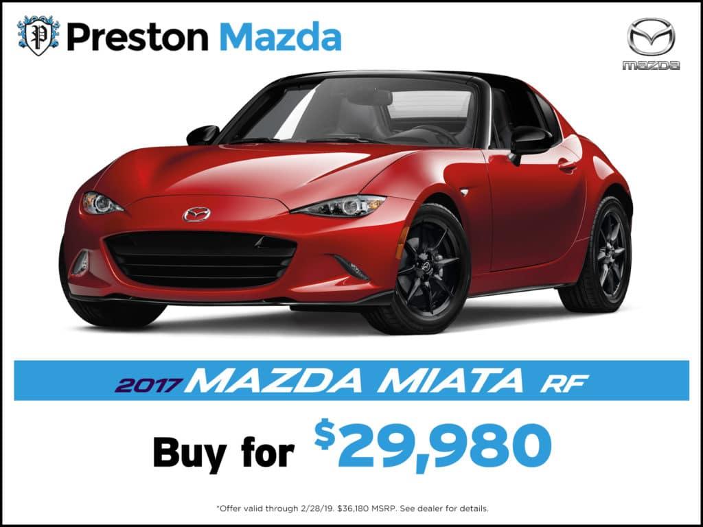 2017 Mazda Miata MX-5 RF