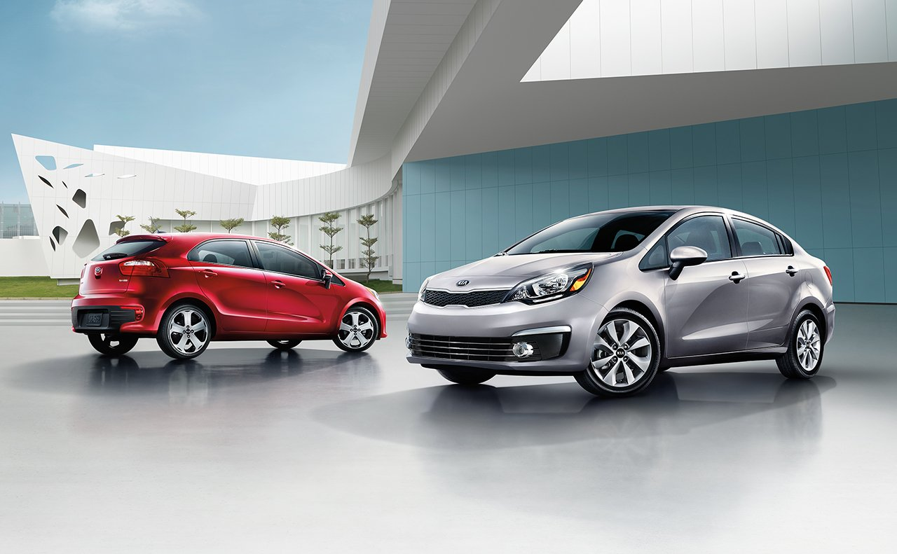 New Rio inventory at Quirk Kia