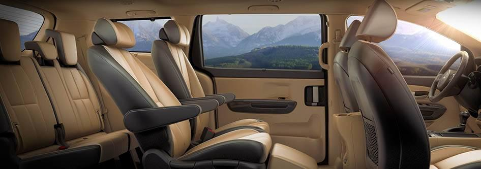Comfort, Safety, And Style Define The All New Kia Sedona. From Its  Luxurious Interior To Its Head Turning Exterior, The Sedona Has Been  Redesigned.