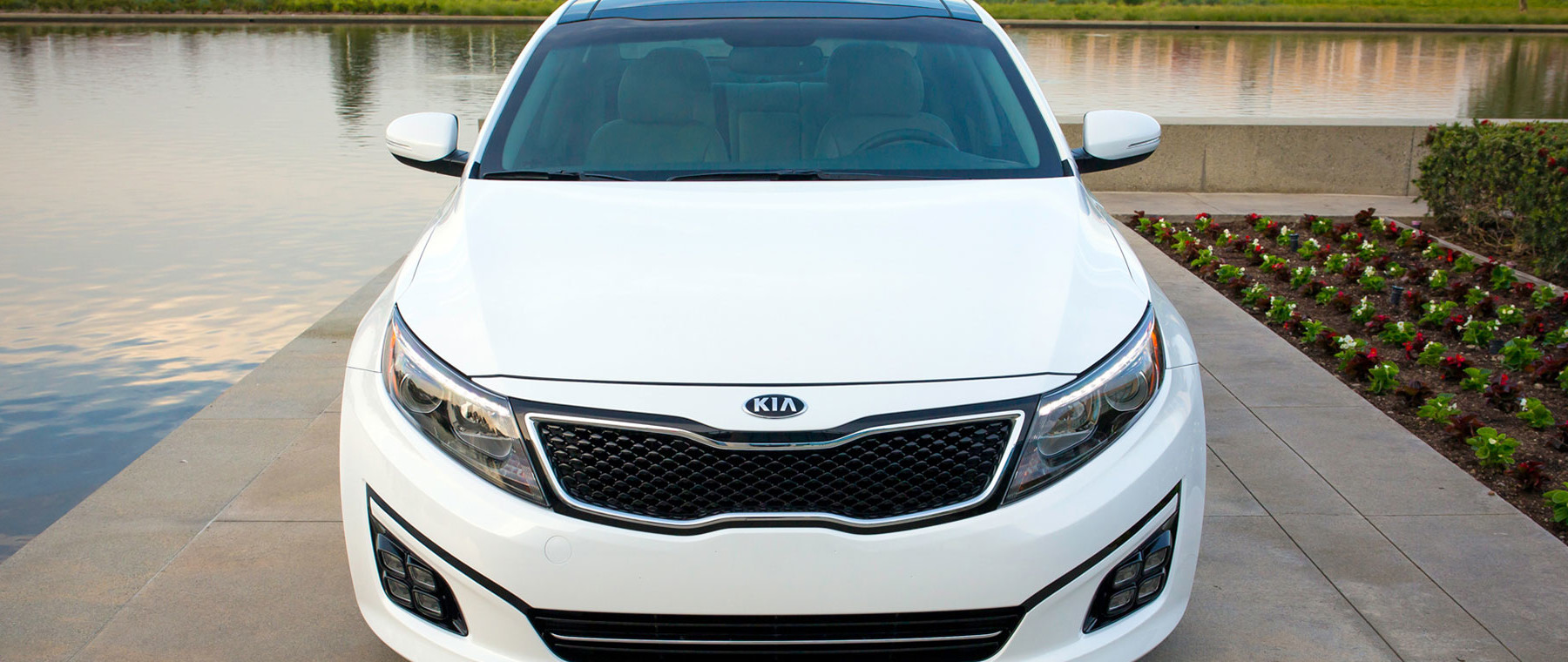 New 2016 Kia Optima parking |Quirk Kia in Manchester NH