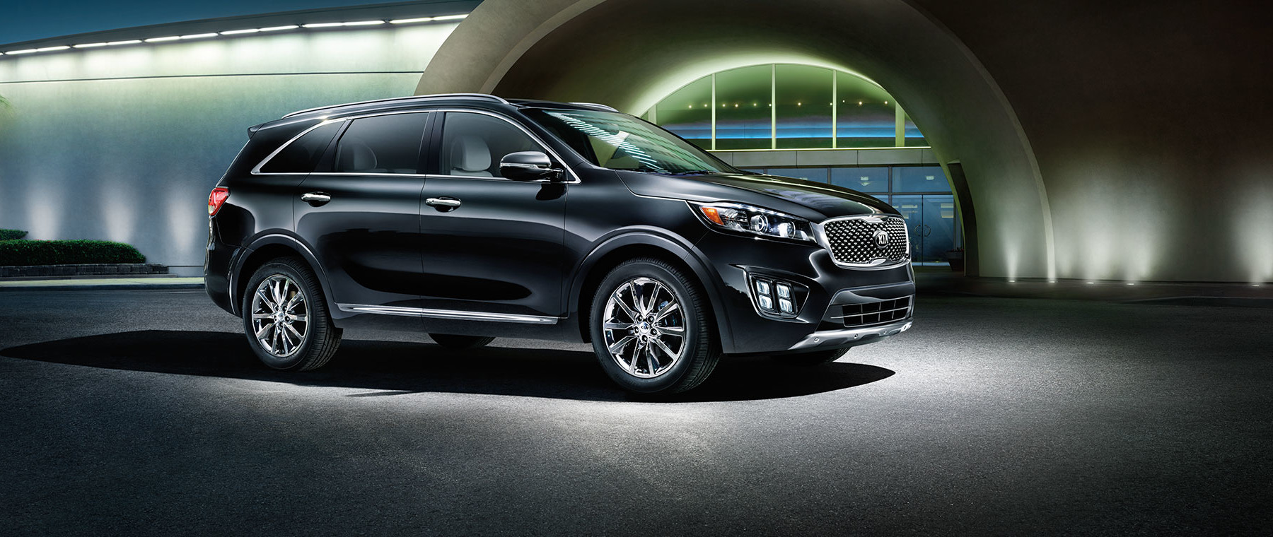 New 2016 Kia Sorento sitting| Quirk Kia in Manchester NH