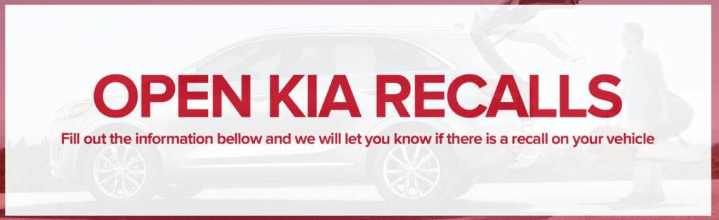 Open Kia Recalls