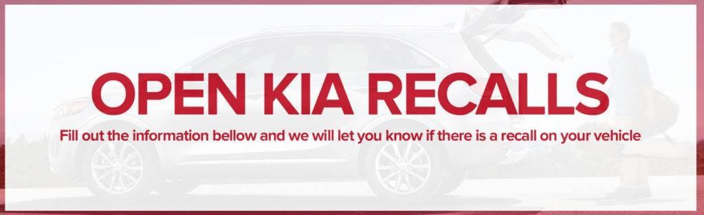 Open Kia Recalls