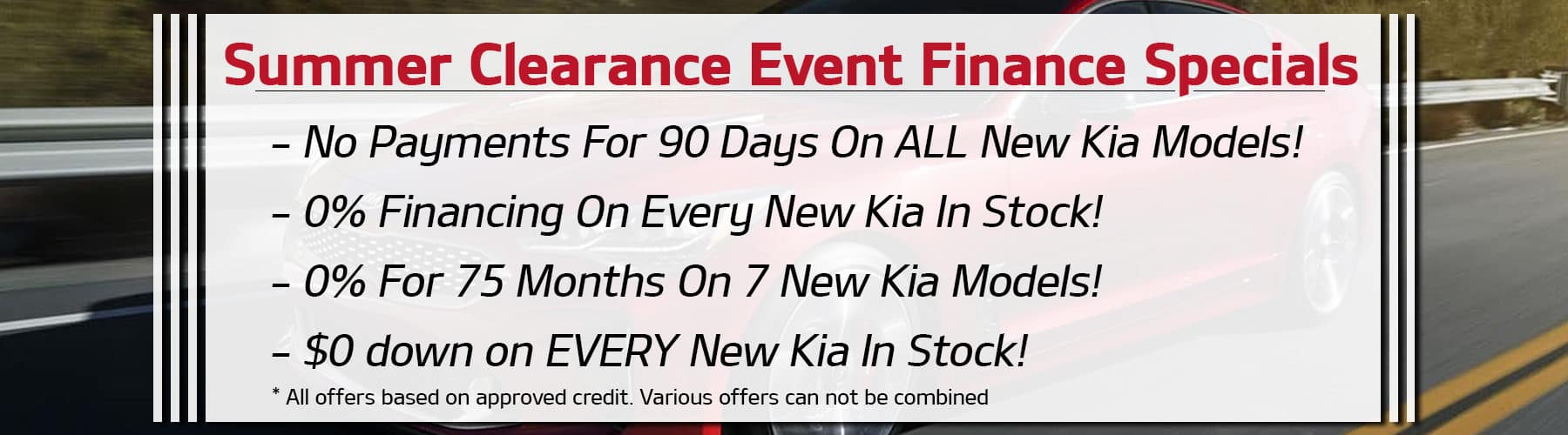 Kia Finance Bad Credit >> Quirk Kia 1 Kia Dealership Manchester Nh Kia Dealership
