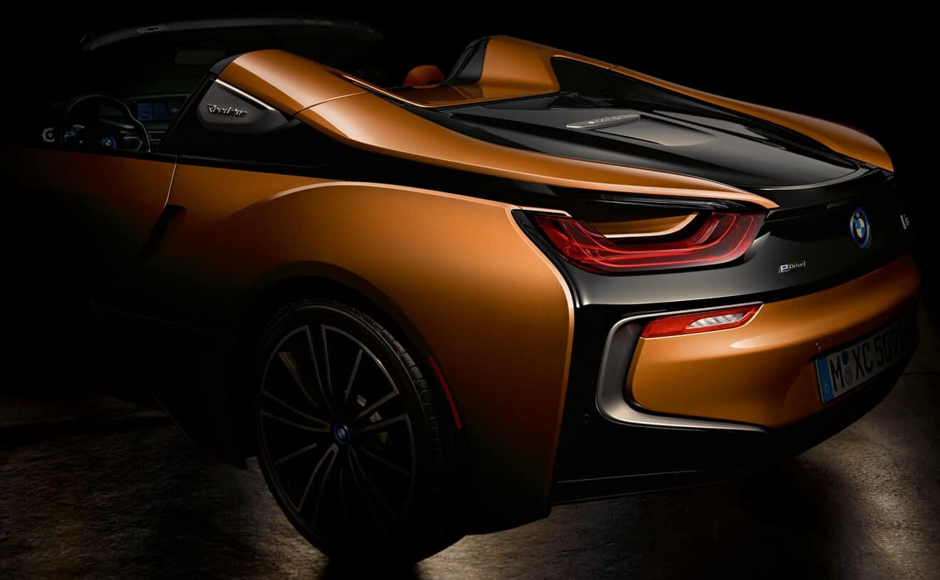 A First Look At The All New Bmw I8 Roadster Rallye Bmw
