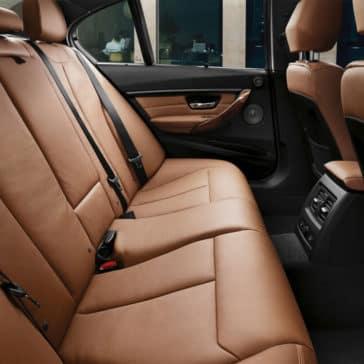2018 BMW 3 Series Sedan 330i Interior Rear Seats