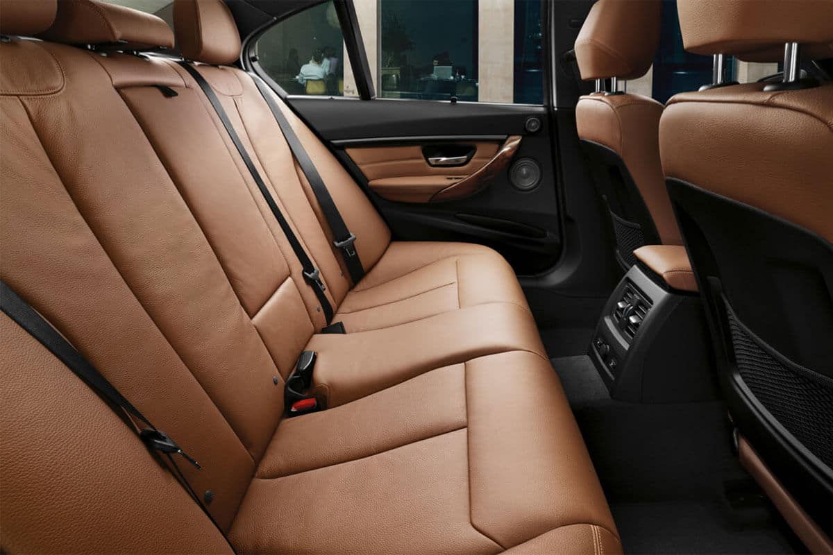 2018 BMW 3 Series Sedan 330i Interior Rear Seats