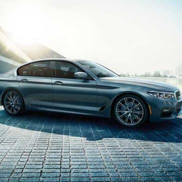 2018 BMW 5 Series Exterior side view