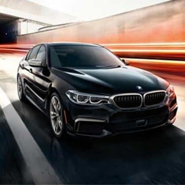 2018 BMW 5 Series driving