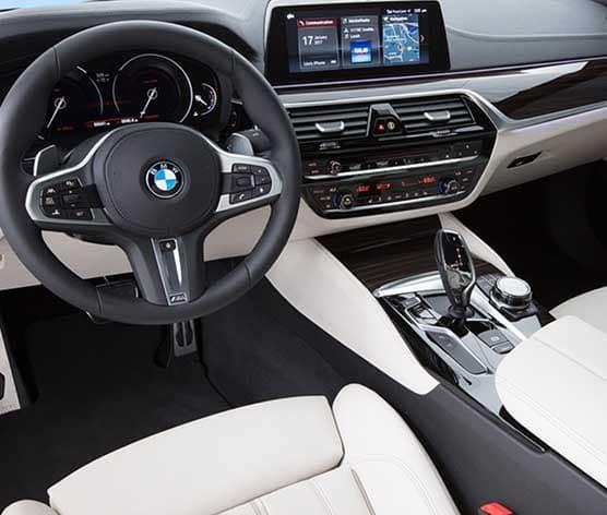 2018 BMW 5 Series Interior Dashboard
