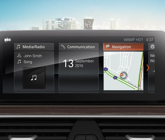 2018 BMW 5 Series Interior technology