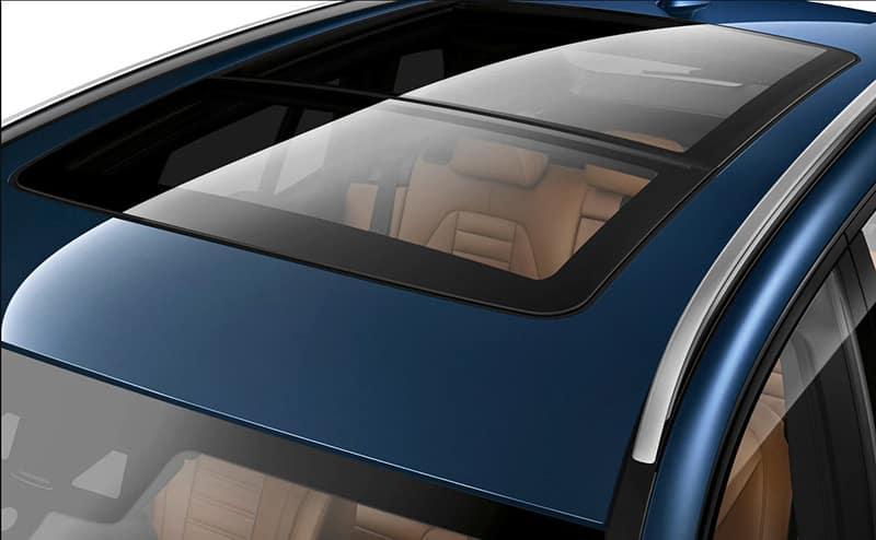 2019 BMW X3 sunroof