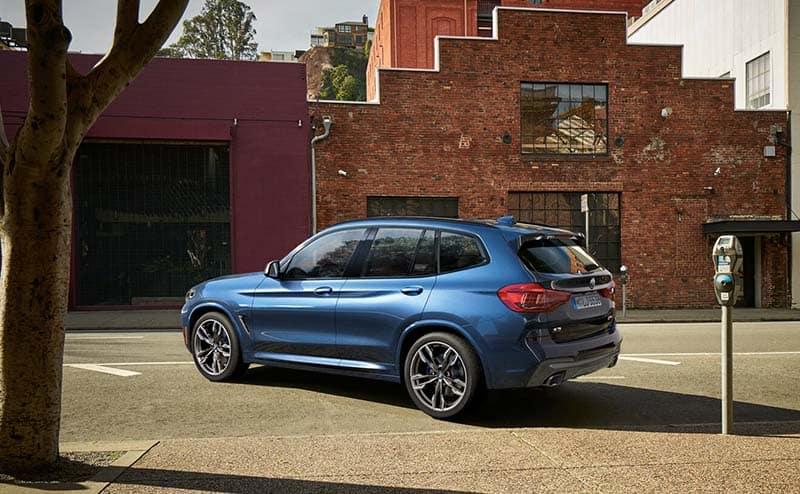 2019 BMW X3 side profile