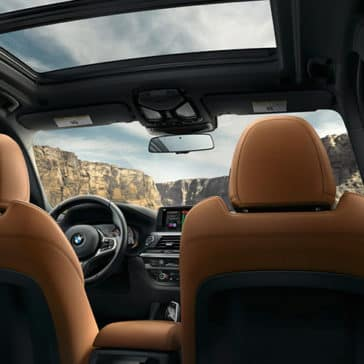 2019 BMW X3 interior seating