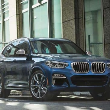 2019 BMW X3 in front of building