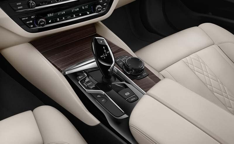 2019 BMW 5 Series front interior