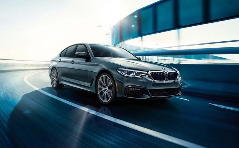 2019 BMW 5 Series driving