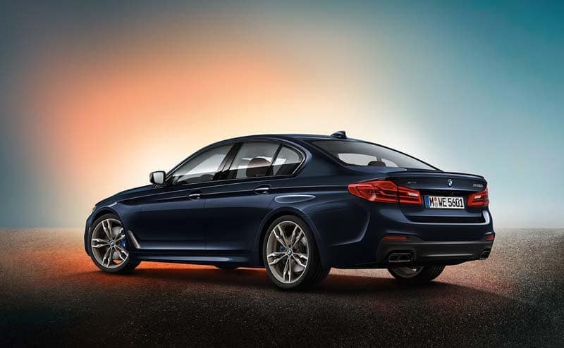 2019 BMW 5 Series profile