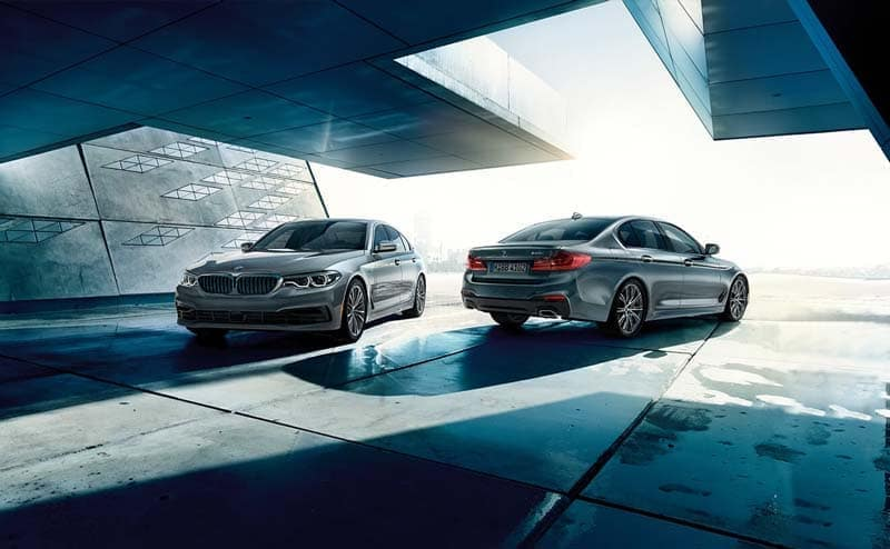 Two 2019 BMW 5 Series