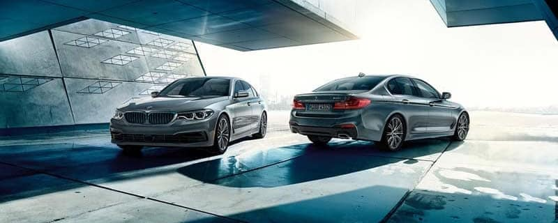 2019 two BMW 5 Series banner
