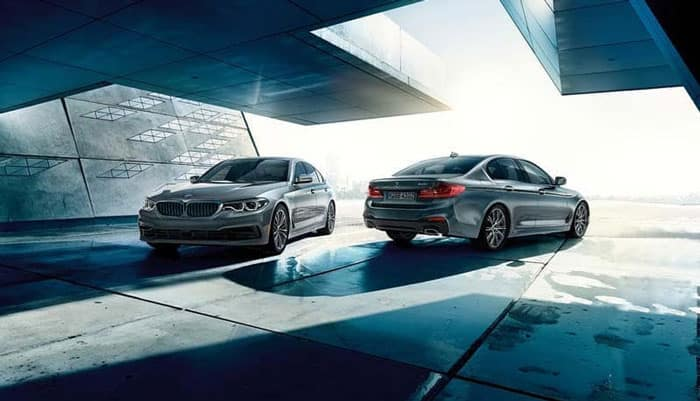 2019 BMW Models Facing Opposite Direction