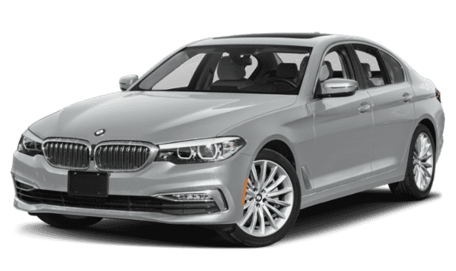 2019 BMW 5 Series Side View