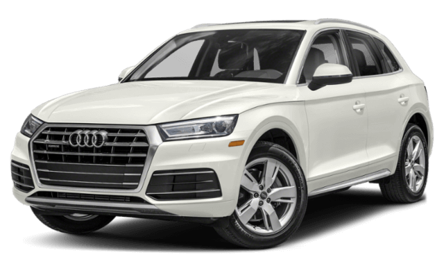 2019 Audi Q5 White SUV