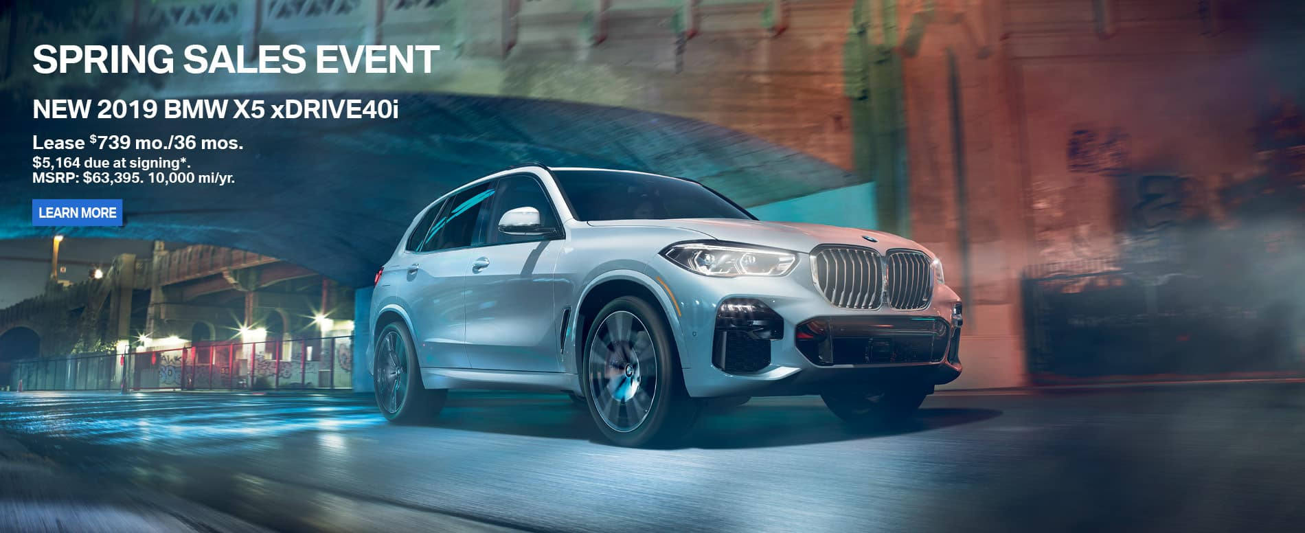 2019 BMW X5 Spring specials