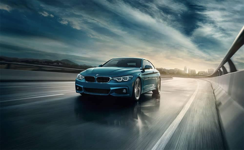 2019 BMW 4 Series Driving