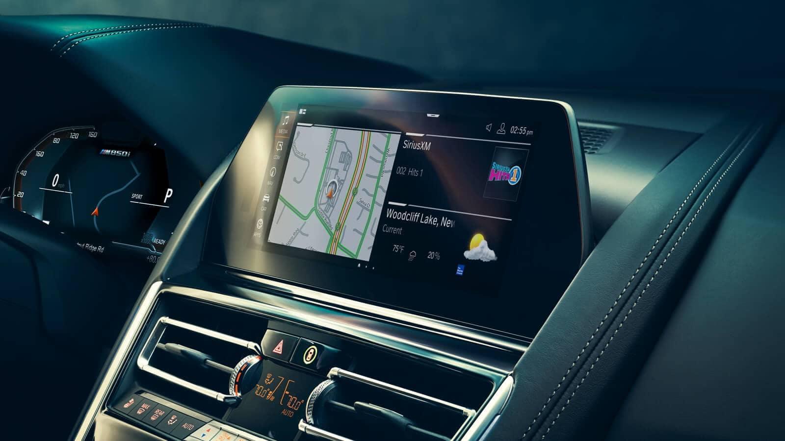 2019 BMW 8 Series navigation