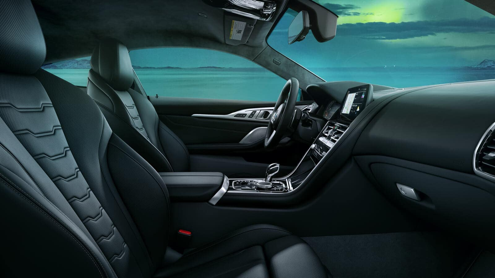2019 BMW 8 Series passenger view