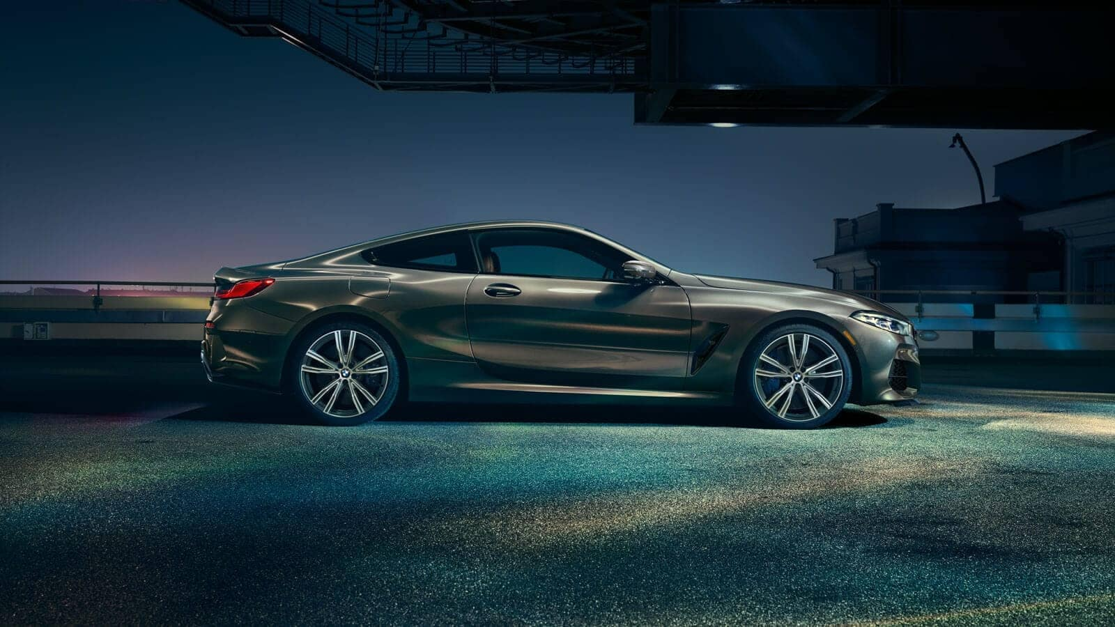 2019 BMW 8 Series side view