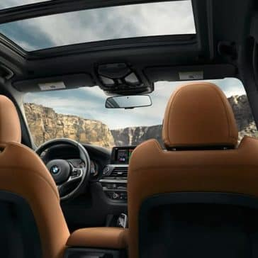 2019 BMW X3 Sunroof
