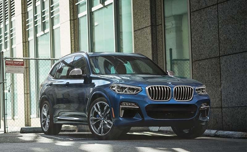 2019 BMW X3 Parked