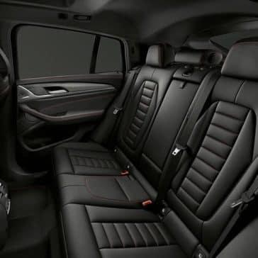 2019 BMW X4 Seating