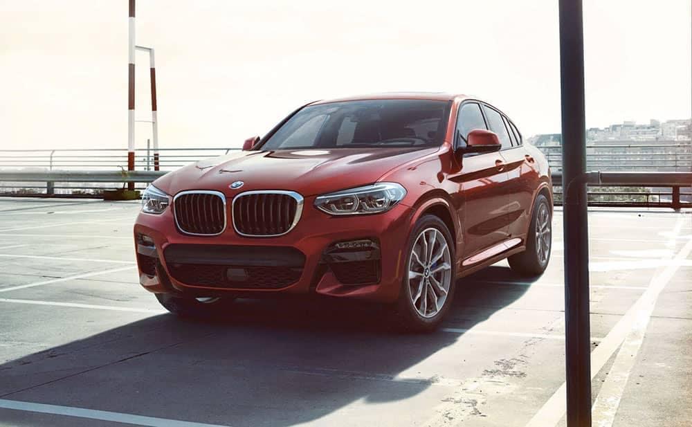 2019 BMW X4 Parked