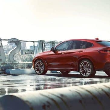 2019 BMW X4 Red