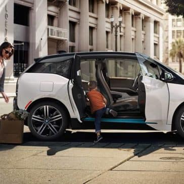 2019 BMW i3 Doors Open