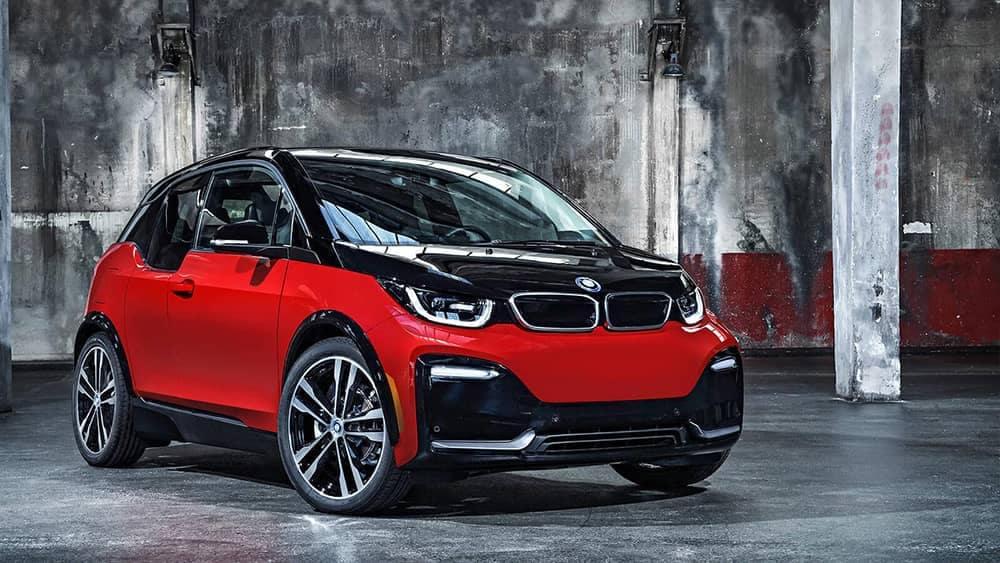 2019 BMW i3 In Parking Garage