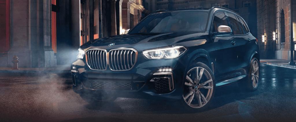 Blue 2019 BMW X5